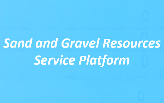 Sand and Gravel Resources Service Platform(Open in New Window)